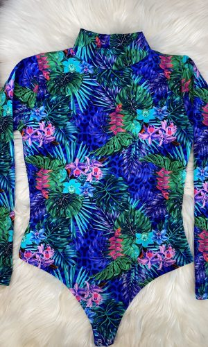 Angie Tropical Print