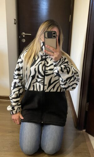 Poleron Rubi Zebra